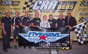 8.22.15 Victory Lane Five Star