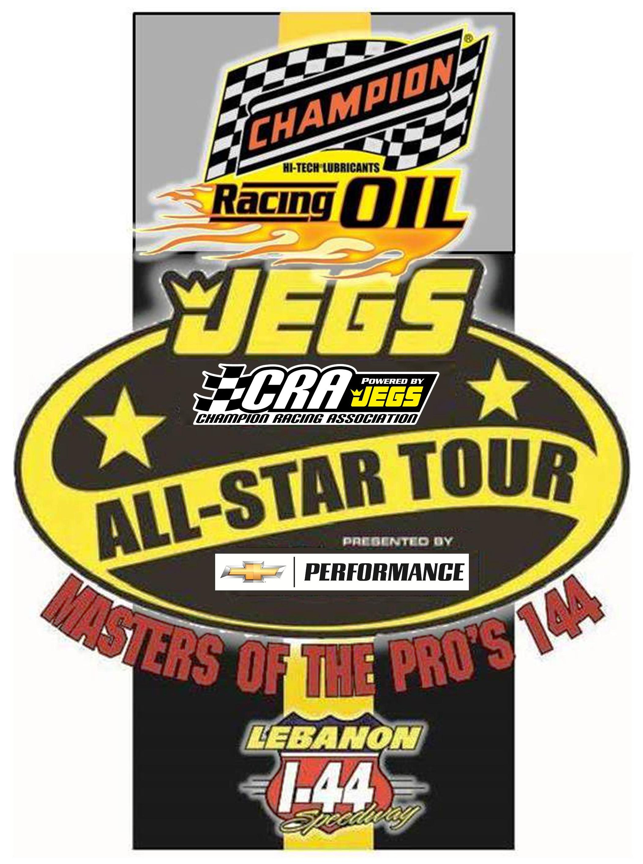 Champion Racing Oil Masters of the Pro s 144 Entries to Date