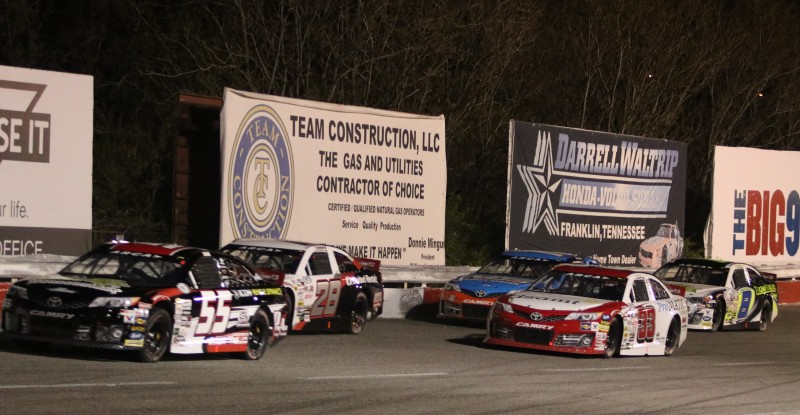 ARCA Racing Series Speeds Down The Backstretch At Fairgrounds Speedway Nashville (ARCA Racing Photo)