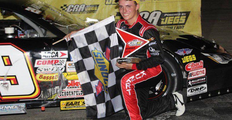 6.2.18 Winner Austin Kunert by Car
