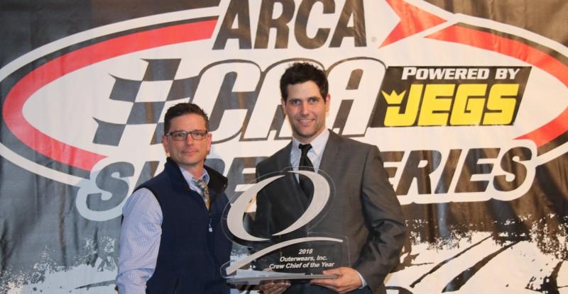 Outerwears Crew Chief Award Presentation