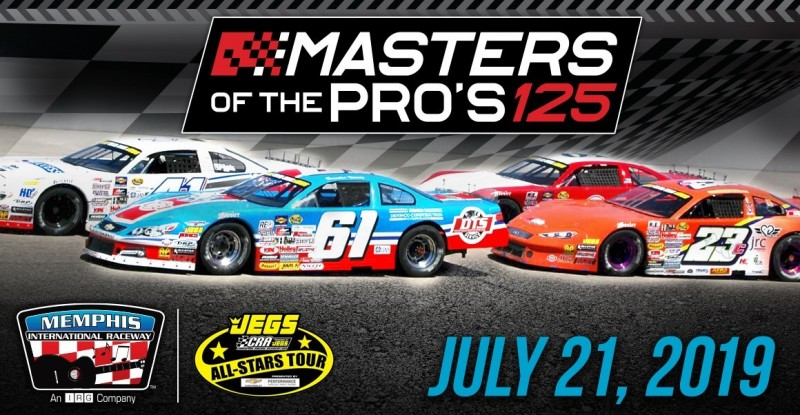 Masters of the Pro's 125 Logo